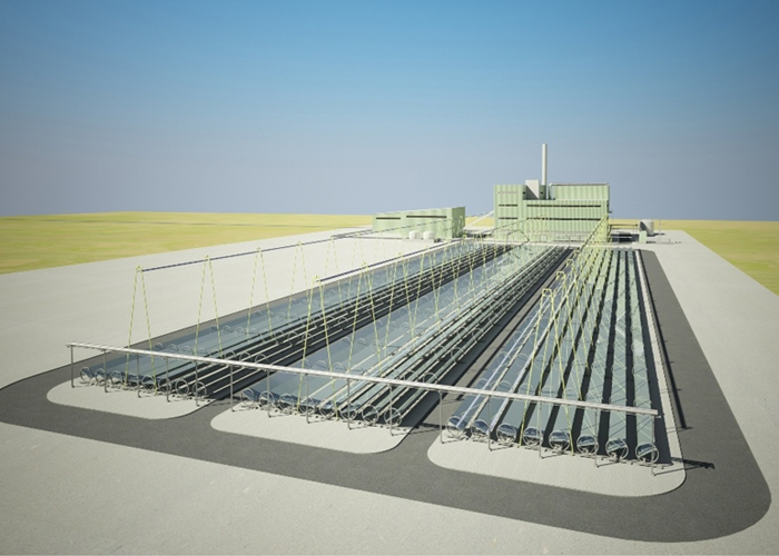 Solar Biomass Hybrid Power Plant